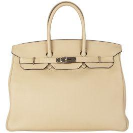 Hermès 'Birkin 35' Trench Togo