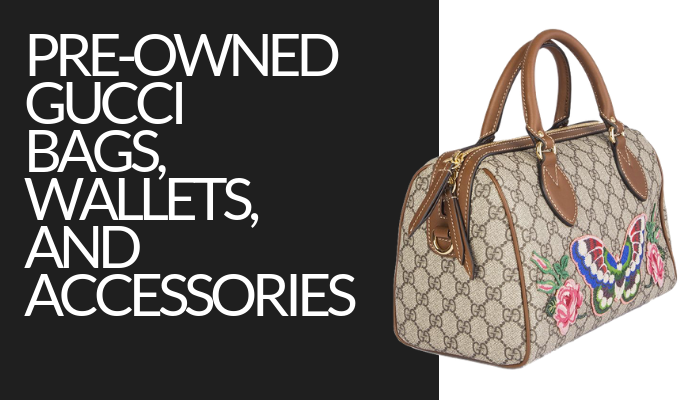 Preowned Gucci Bags, Wallets, & Accessories