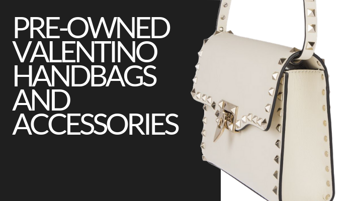 Pre-owned Valentino Handbags & Accessories